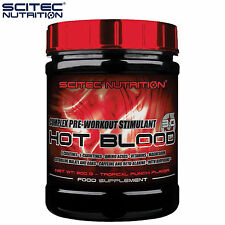 Hot Blood 300g Pre-Workout Booster With Amino Acids 5 Creatines Energy Endurance