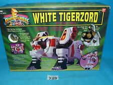 POWER RANGERS MMPR MIGHTY MORPHIN DX WHITE TIGERZORD 100% 729