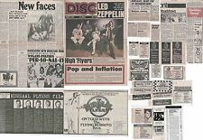 KURSAAL FLYERS : CUTTINGS COLLECTION -adverts interviews-