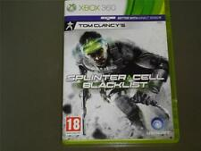 Splinter Cell Blacklist Xbox 360 UK PAL **FREE UK POSTAGE!!**