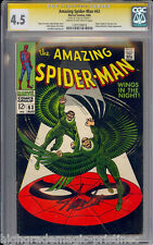 AMAZING SPIDER-MAN #63 CGC 4.5 STAN LEE SIGNED SIG SERIES CGC #1197739016