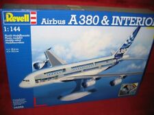 REVELL® 04259 1:144 AIRBUS A380 &VISIBLE INTERIOR BRAND NEW