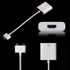 iPad To HDMI Cable Adapter For Apple iPad,iPad 2,iPhone 4,4S,iTouch-Connect HDTV