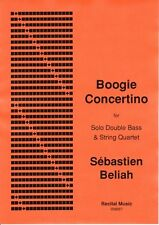 Beliah: Boogie Concertino for double bass & string quartet RM657