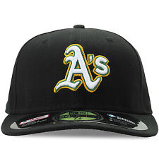 NEW ERA OAKLAND ATHLETICS FITTED HAT MENS NEA-OAKALT2 As Baseball Cap Size 7 1/2