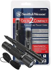 Smith & Wesson Delta 2 High Performance LED Tactical Flashlight Pen Light Combo