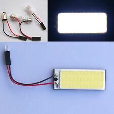 2pcs Car Interior White COB 36 LED Dome Light Bulb Panel T10 Festoon Adapter 12V