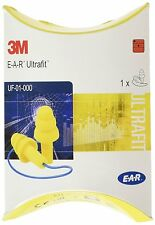 3M EAR UF-01-000 Ultrafit CORDED Reusable Pre Moulded Ear Plugs ONE Pair