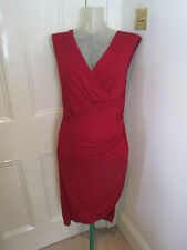 Michael Kors  (main line) red dress sz US 10 UK  12- 14