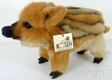 KOSEN made in GERMANY NEW WILD BABY BOAR PLUSH TOY