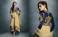Indian Pakistani Bollywood Ethnic Designer Stylish Anarkali Women Dress