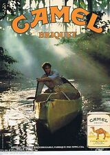 PUBLICITE ADVERTISING 075  1988  CAMEL  briquets