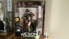 Russell Wilson autograph mcfarlane signed 7/100 Seattle Seahawks