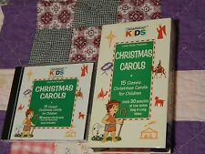 Cedarmont Kids - Christmas Carols (VHS) + (CD) - HOLIDAY LOT - (Free Ship.) XMAS
