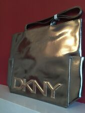 DKNY METALLIC TOTE/SHOPPER BAG NEW!!!