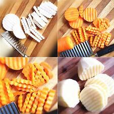 Kartoffelchip Gemüse Knitter Windungs Chip Schneider Slicer Edelstahl