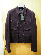 £ 2690!!! PISTA!!! BURBERRY PRORSUM ss15 LEATHER JACKET IT46 US36 PICCOLO S