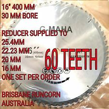 "400mm (16"") X 60T 30/ 25.4MM BORE  CIRCULAR SAW BLADE FOR WOOD CUTTING"