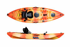 SIT ON TOP KAYAK GALAXY CRUZ NEW 2016 MODEL WITH FREE TROLLEY
