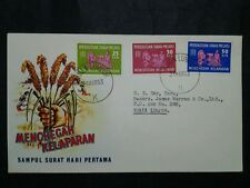 Malaysia 1963 Federation Of Malaya Freedom From Hunger FDC NO Brochure/Insert(1)