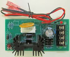 12 Volt DC / 6VDC Regulated Power Supply PC Board Module Heat Sink 1.5A LM317