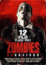 Zombies Unbrained:12 Film Flesh Fest (DVD,2013,3-Discs)Sealed,Horror,Halloween