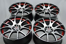 18 Wheels Rims Accord Camry Fusion TL Eclipse Avalon Q40 Sonata TC 5x100 5x114.3
