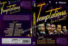 Temptations - Live in Concert (DVD, 2010) NEW ITEM