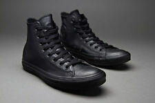 NEW Converse CT AS Hi Leather Black Mono AT405 US Mens 12