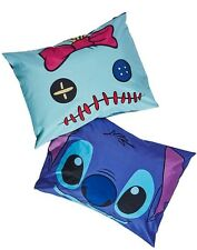 Disney Lilo & Stitch & Scrump Face Super Soft 2 Pack Pillowcase Set NWT!