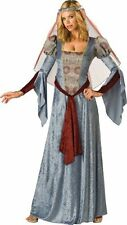 InCharacter Costumes Women's Maid Marian Costume, Blue/Burgundy/Grey, Medium