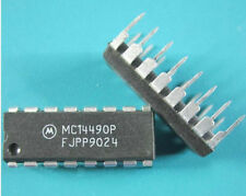 10PCS MC14490P IC ELIMINATOR BOUNCE HEX DIP-16 W