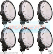 "6 x SIM 3227 12V/24V 9"" ROUND SPOTLIGHTS SPOTLAMPS CAB TOP BAR TRUCK LORRY 4x4"