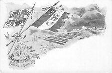 Cartolina - Reggimentali - 6° Reggimento Fanteria - Brigata Aosta