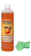 1L Orangen Reiniger Konzentrat Universalreiniger Orangenöl Reiniger + MFtuch