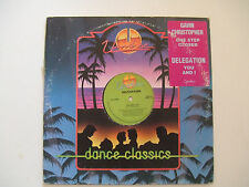 "Gavin Christopher / Delegation-Disco Mix 12"" 33 Giri Vinile Stampa Canada 1990"