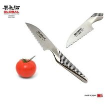 "Coltello Global GS9 : ""Tomato Knife""  coltello pomodori seghettati- cm.8"