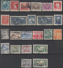 Poland 1921-39 used hi val selection 21 diff stamps cv $54.65