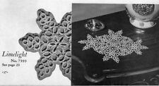 TATTING EDGINGS LACE Patterns DOILY Collars TABLECLOTH INSERTIONS Pulls DOILIES