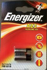 2 x Energizer A23 12V Batteria 23A LRV08 MN21 E23A K23A