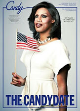 CANDY Transversal Magazine #5 CONNIE FLEMING as MICHELLE OBAMA The Candydate NEW