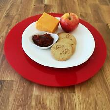 Red Acrylic Lazy Susan