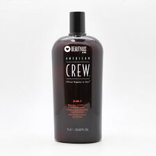 American Crew 3-IN-1 Shampoo Conditioner and Body Wash 33.8 oz