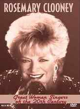 """ROSEMARY CLOONEY """"Great Women Singers Of The 20th Century"""" DVD 2006 GREAT SHAPE"""
