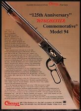 1991 WINCHESTER Model 94 Commemorative Rifle AD Cherry's Photo Advertising