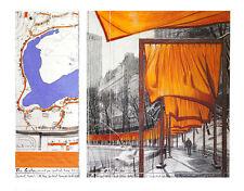Christo The Gates XXIII Poster Kunstdruck Bild 71x86cm - Kostenloser Versand