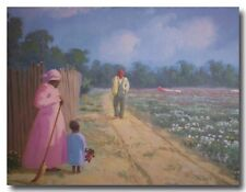AFRICAN AMERICAN ART & PRINTS-Harvest Time (20 x 16 New Unframed)