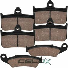 Front Rear Brake Pads For Honda VFR400RIII NC30 1989 1990 1991 1992