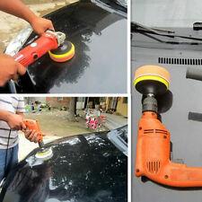 Hot sell 7Pcs/Set 3 pouces polissage pad auto voiture polissage éponge kit roue perceuse