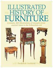 """NEW """"Illustrated History of Furniture"""" Lovely HC by Frederick Litchfield"""